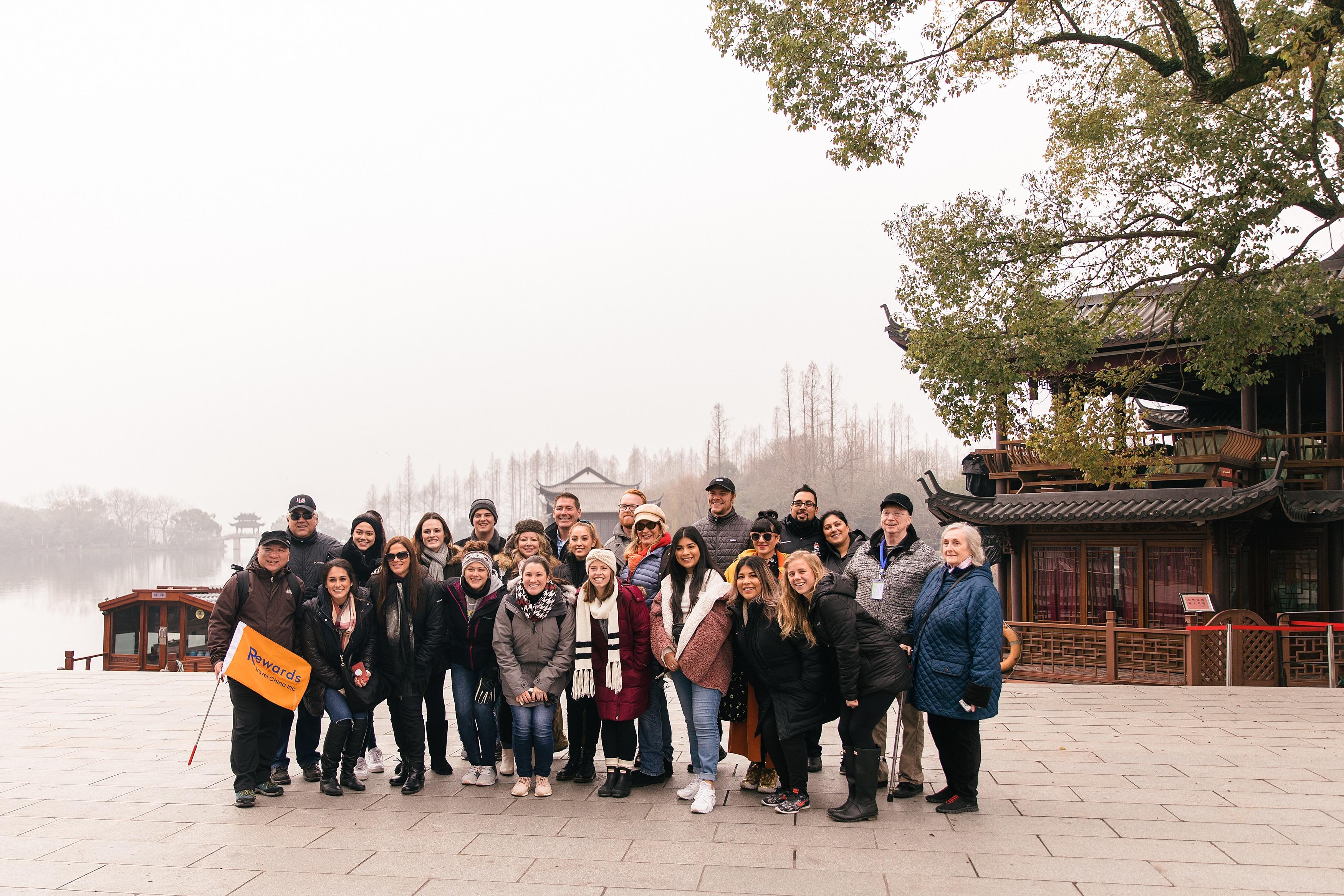 Rewards Travel China group photo