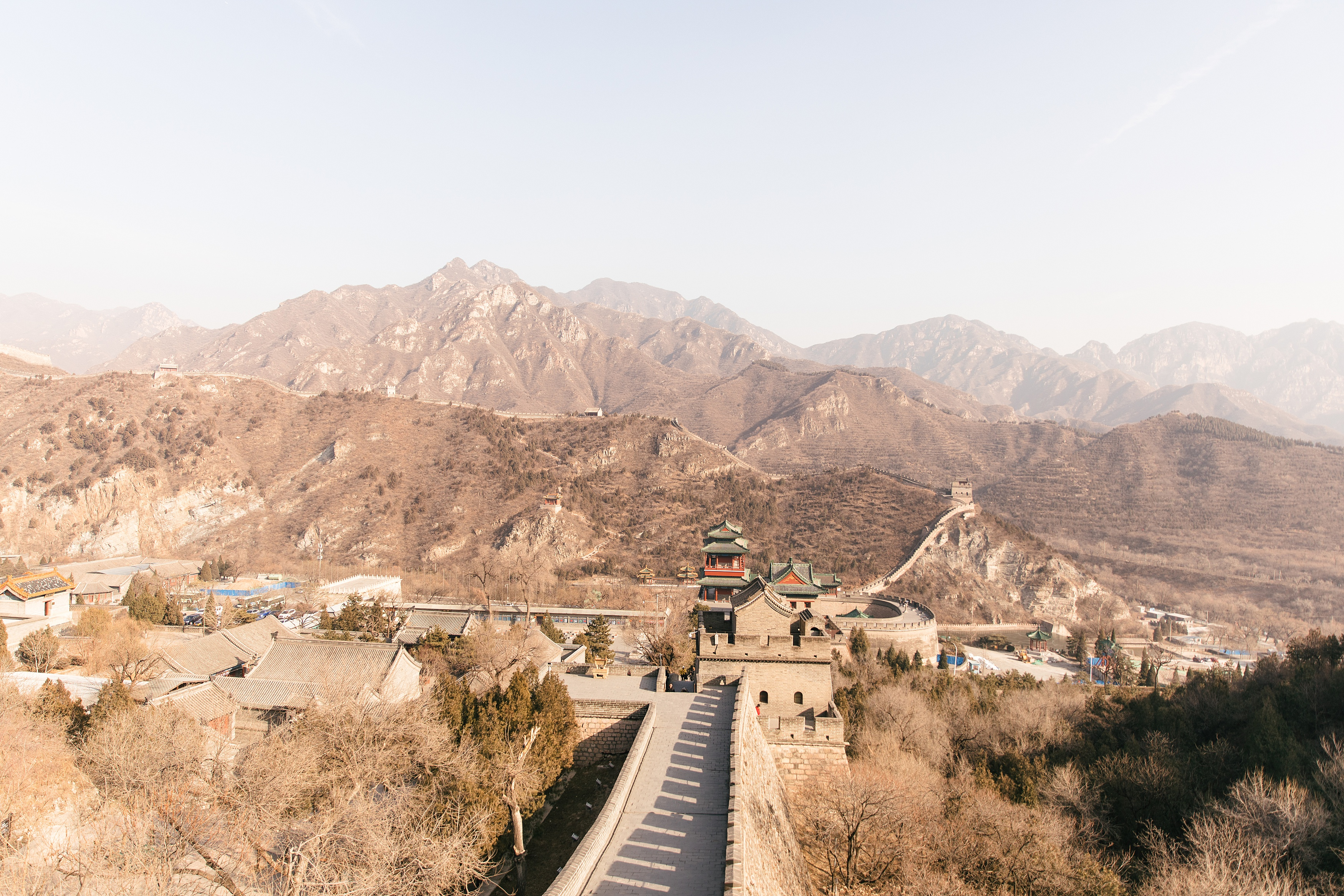 Great Wall of China in January