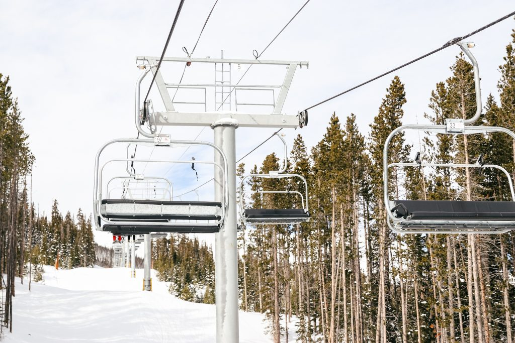 ski lift on Copper mountain