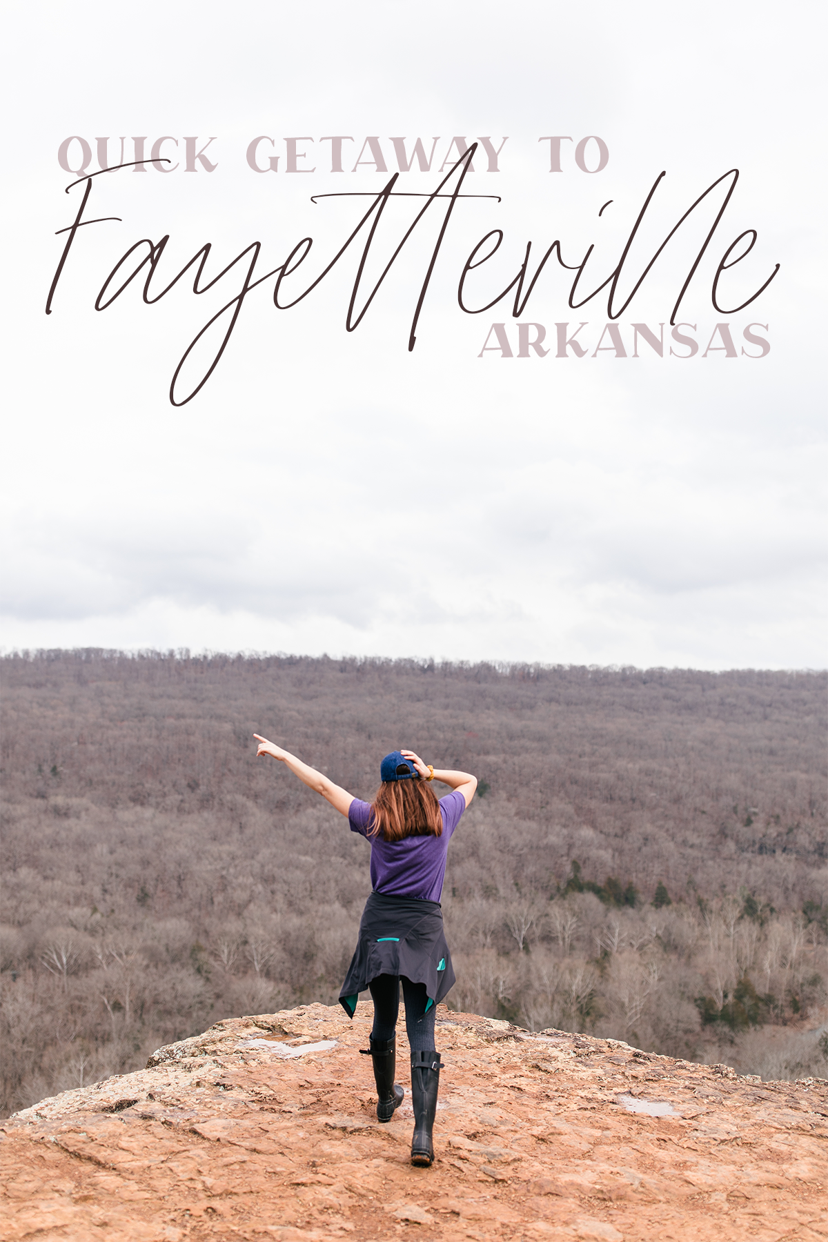 quick getaway to fayetteville arkansas