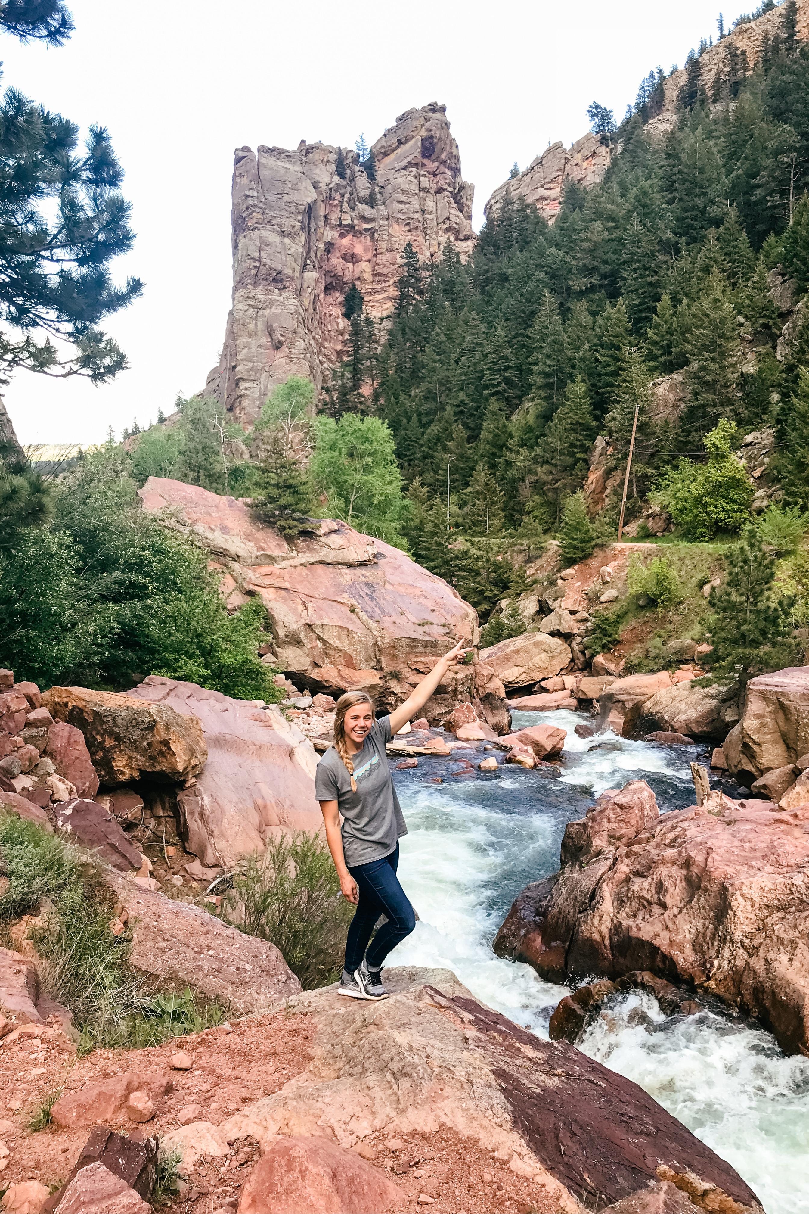 Eldorado Canyon State Park in Boulder, Colorado