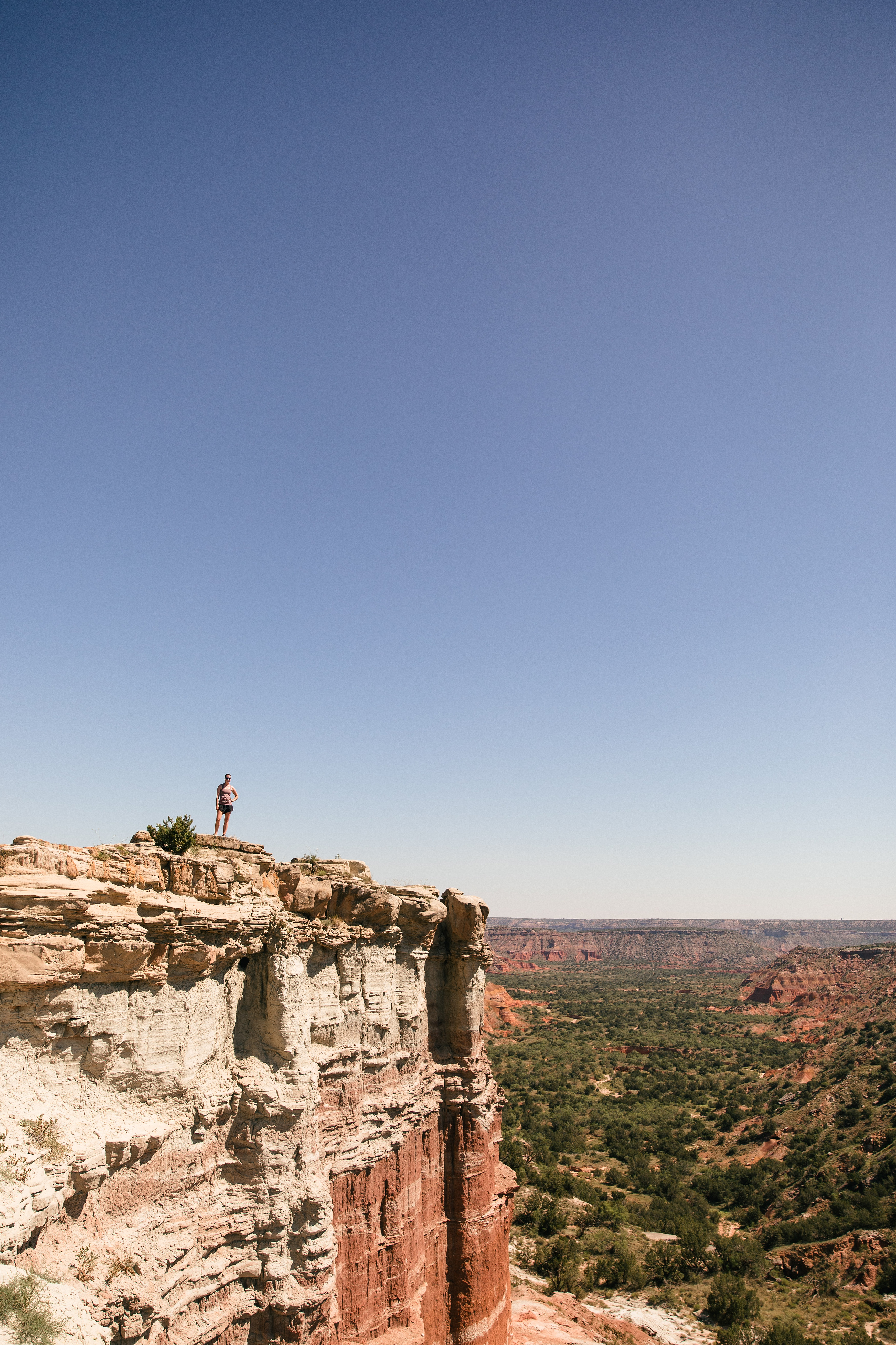 Lighthouse Trail at Palo Duro Canyon Park