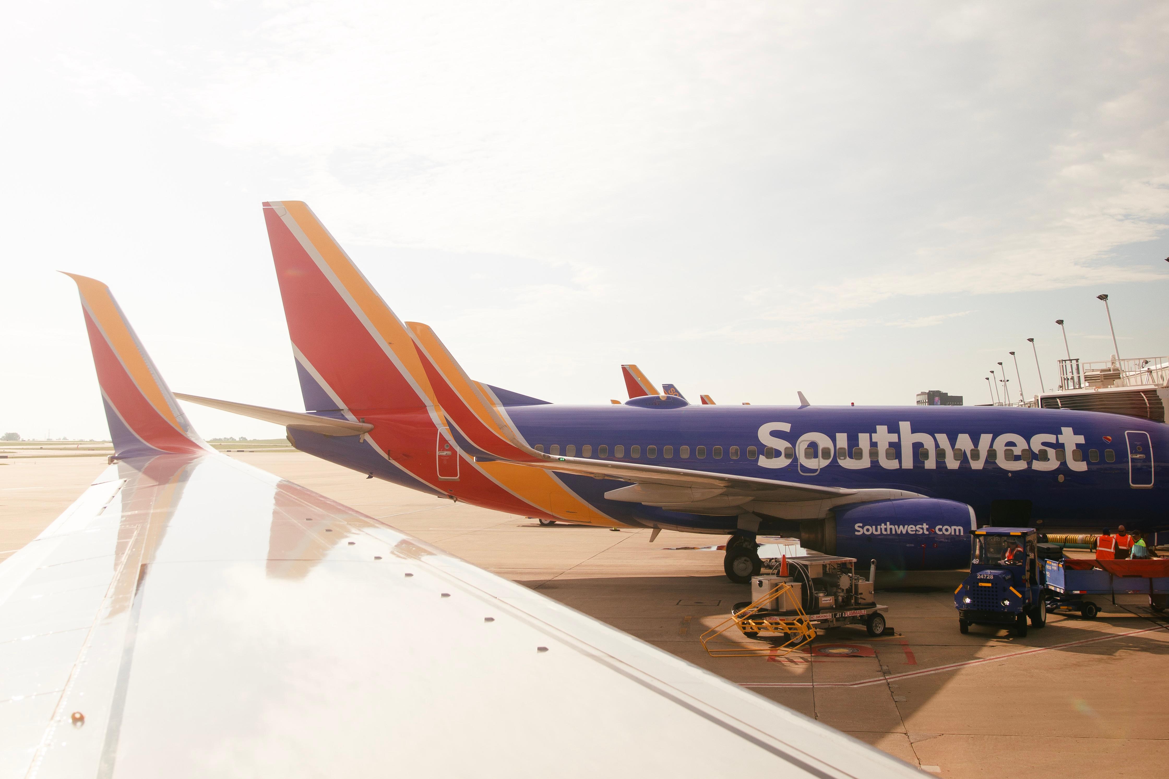 Southwest plane winglet